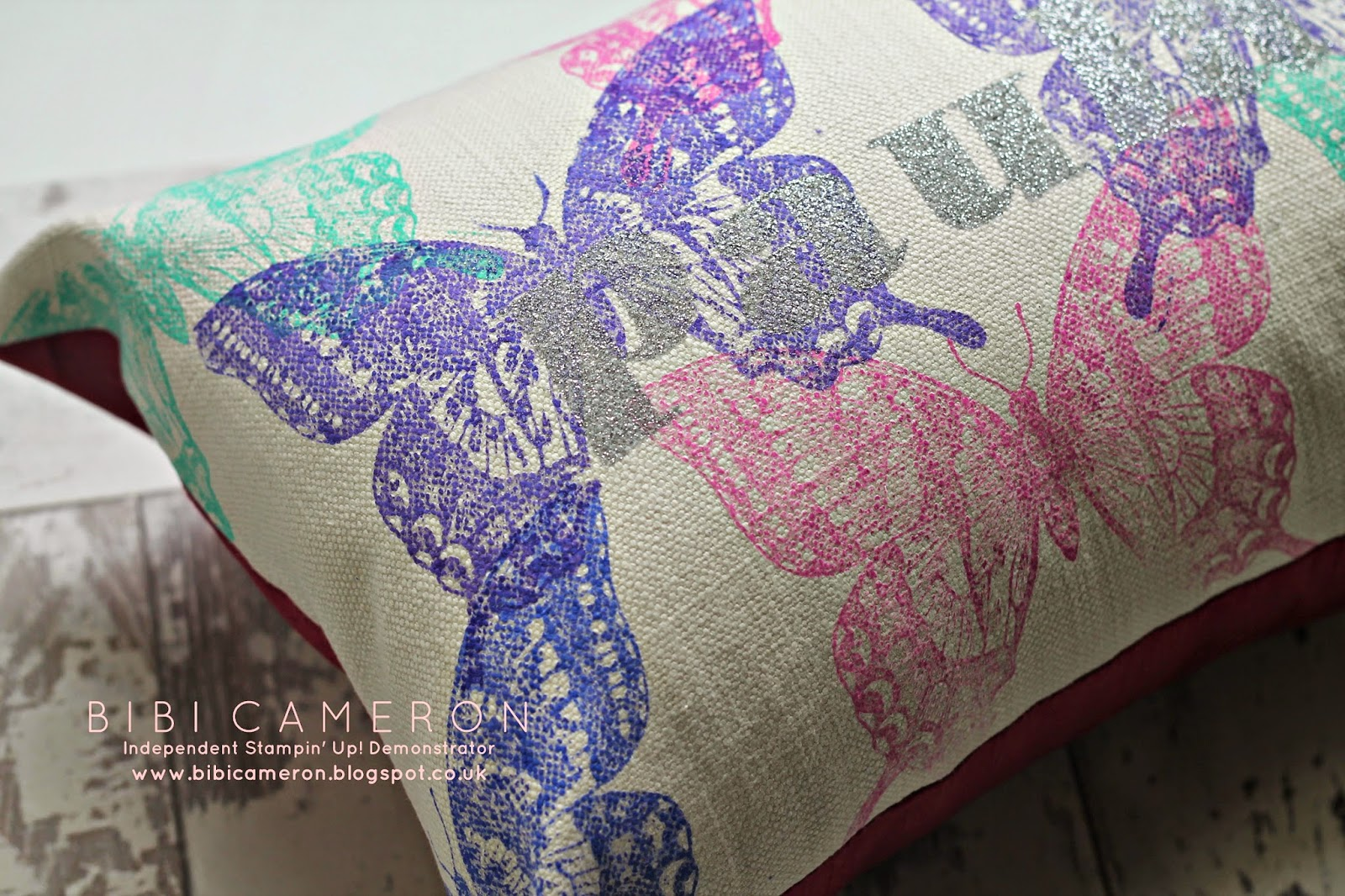Stamping On Fabric Tutorial And Faq How To Bibi Cameron