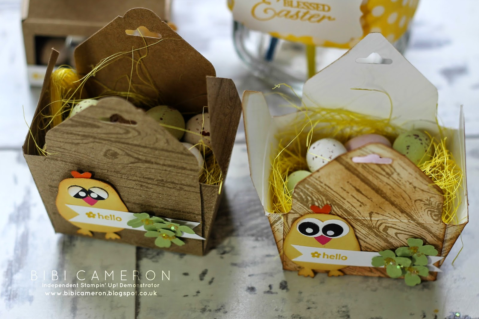 Make Easter Treat Boxes with the Envelope Punch Board