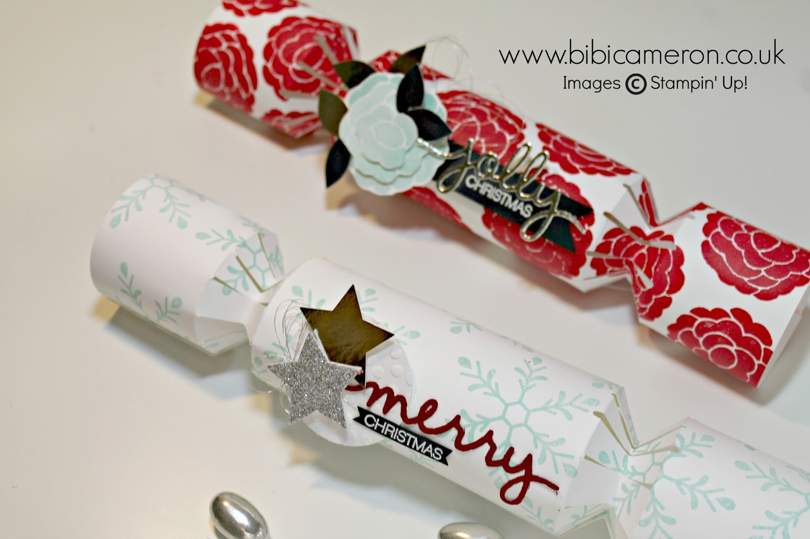 Christmas crackers Tutorial + Gift Punch Board Stampin Up #GDP012 – CASE the Designer