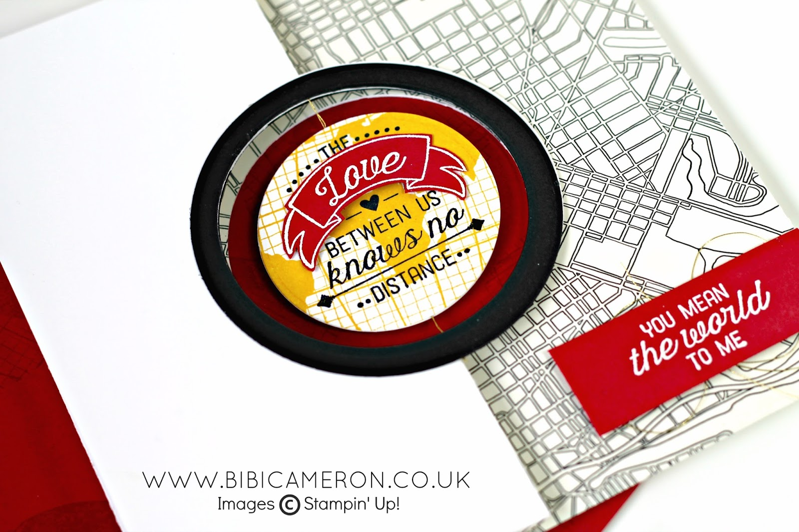 FLIP 'N SPIN CARD TUTORIAL + GOING GLOBAL STAMPIN UP #GDP016 – CASE the Designer