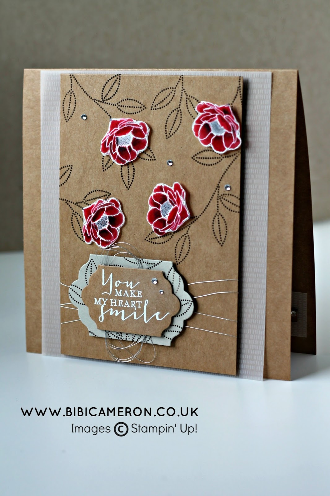 GRATEFUL BUNCH STAMPIN UP WATER COLOUR ON VELLUM FOR #GDP028 – CASE the Designer Jessica Williams