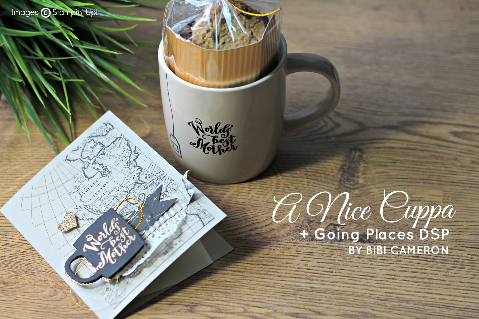A NICE CUPPA STAMPIN' UP! ♥  MOTHER'S DAY GIFT AND CARD IDEA TGIF CHALLENGE  #tgifc52