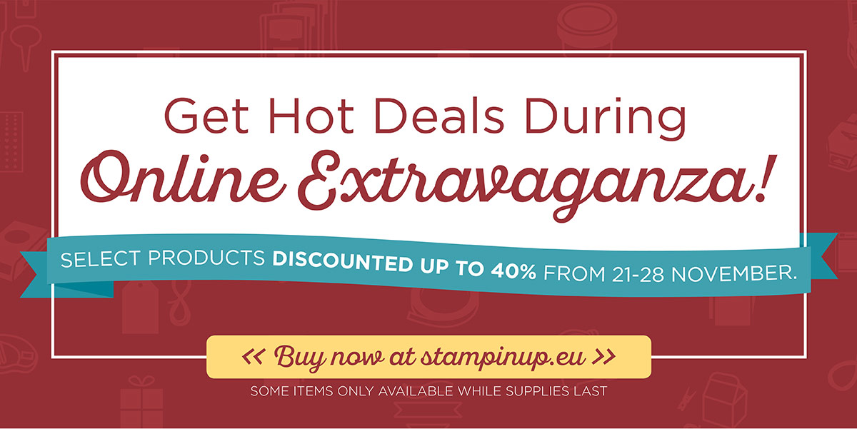 Stampin' Up!® ONLINE EXTRAVAGANZA! !!SALE SALE SALE!