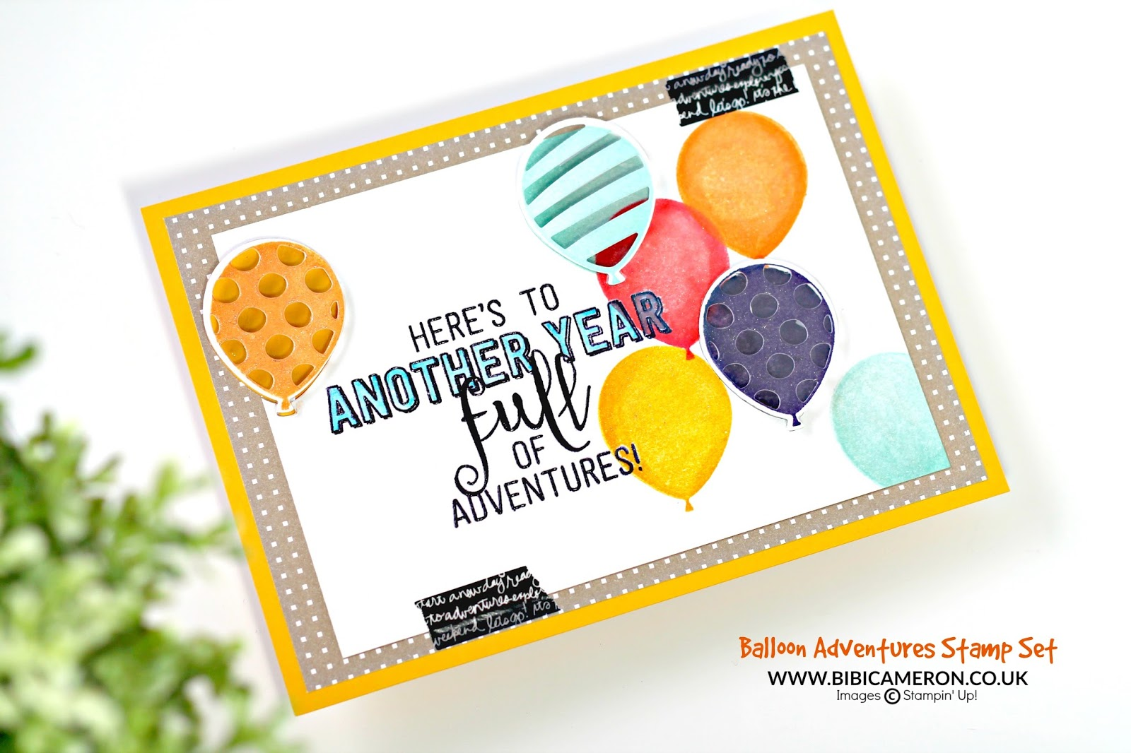 Balloon Adventures Stamp Set by Stampin' Up! GDP063