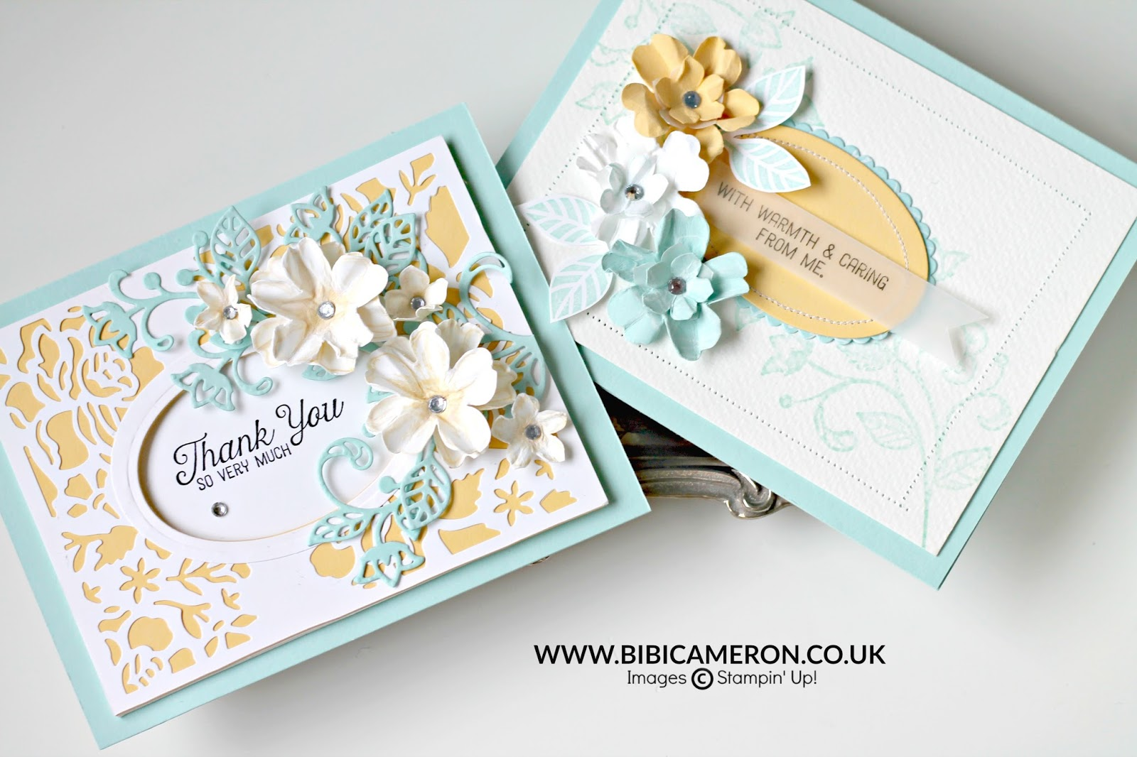Shabby Chic Cards style for Craft Stamper Magazine