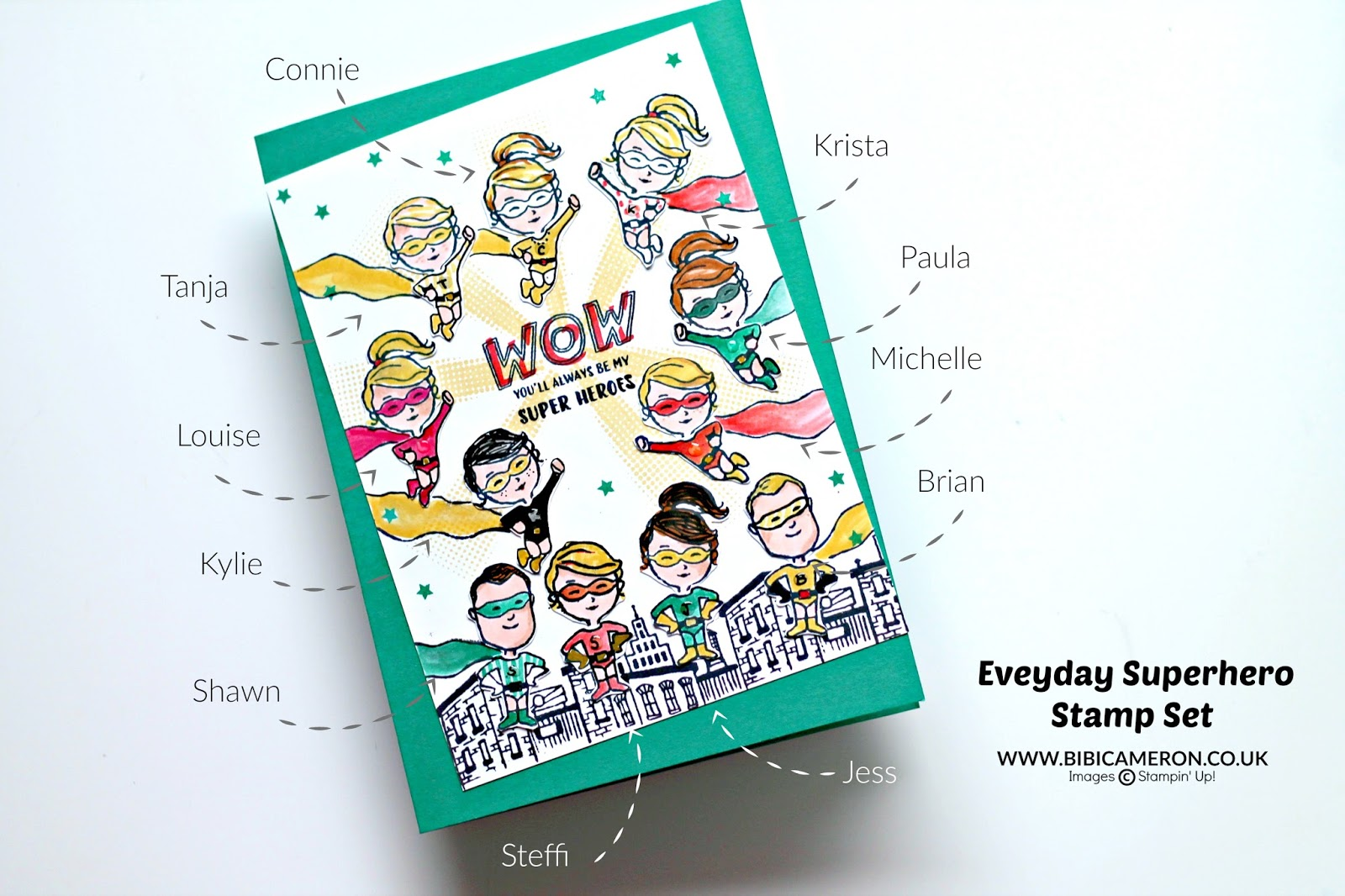 Saying bye to my Stampin Up Everyday Heroes | GDP 073