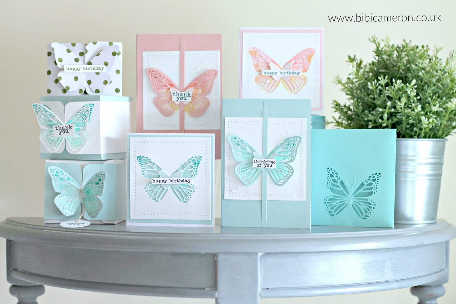 Butterfly Beauty Concord & 9th 6  easy ideas  Video Post