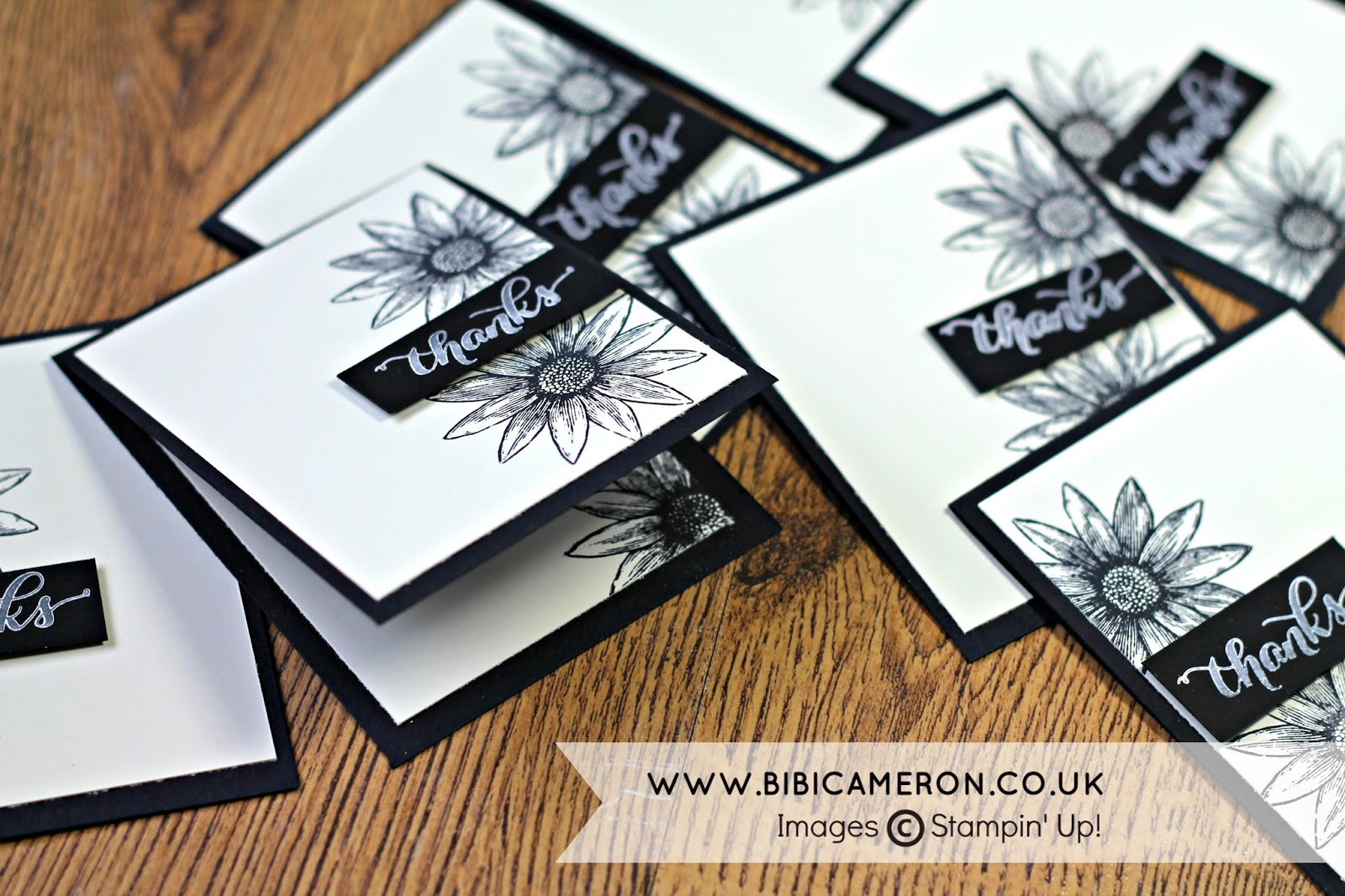 GRATEFUL BUNCH  STAMPIN UP LAST MINUTE THANK YOU CARDS