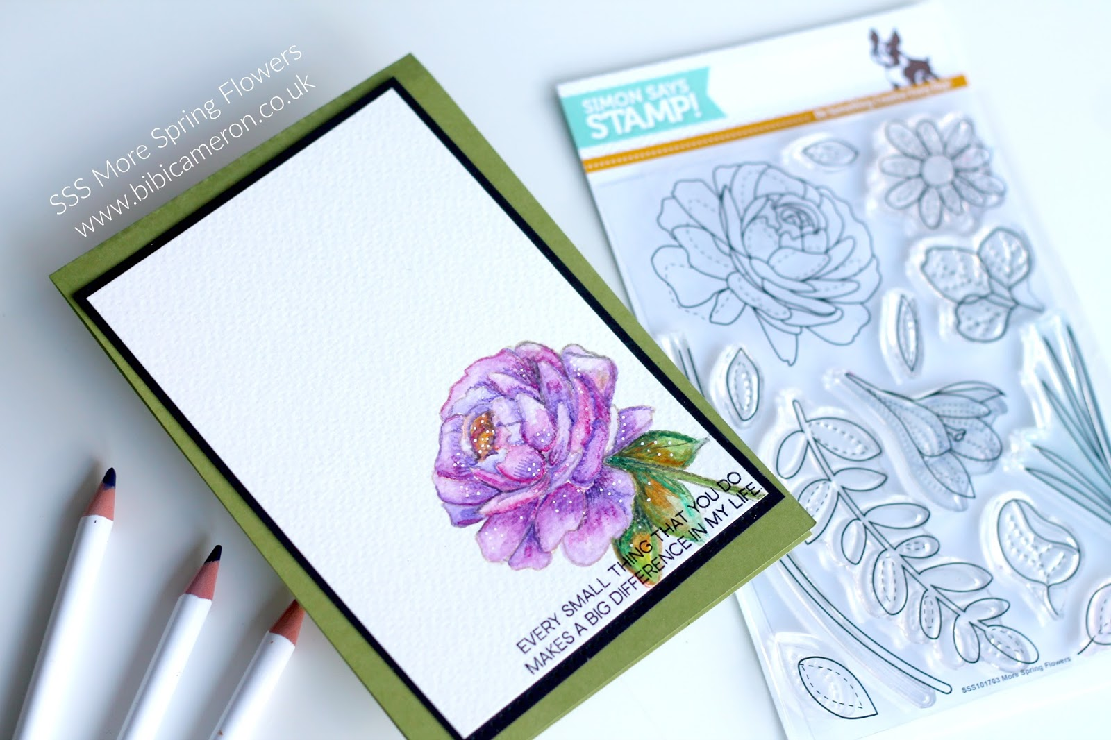 Simon Says Stamp | More Spring Flowers Stamp Set