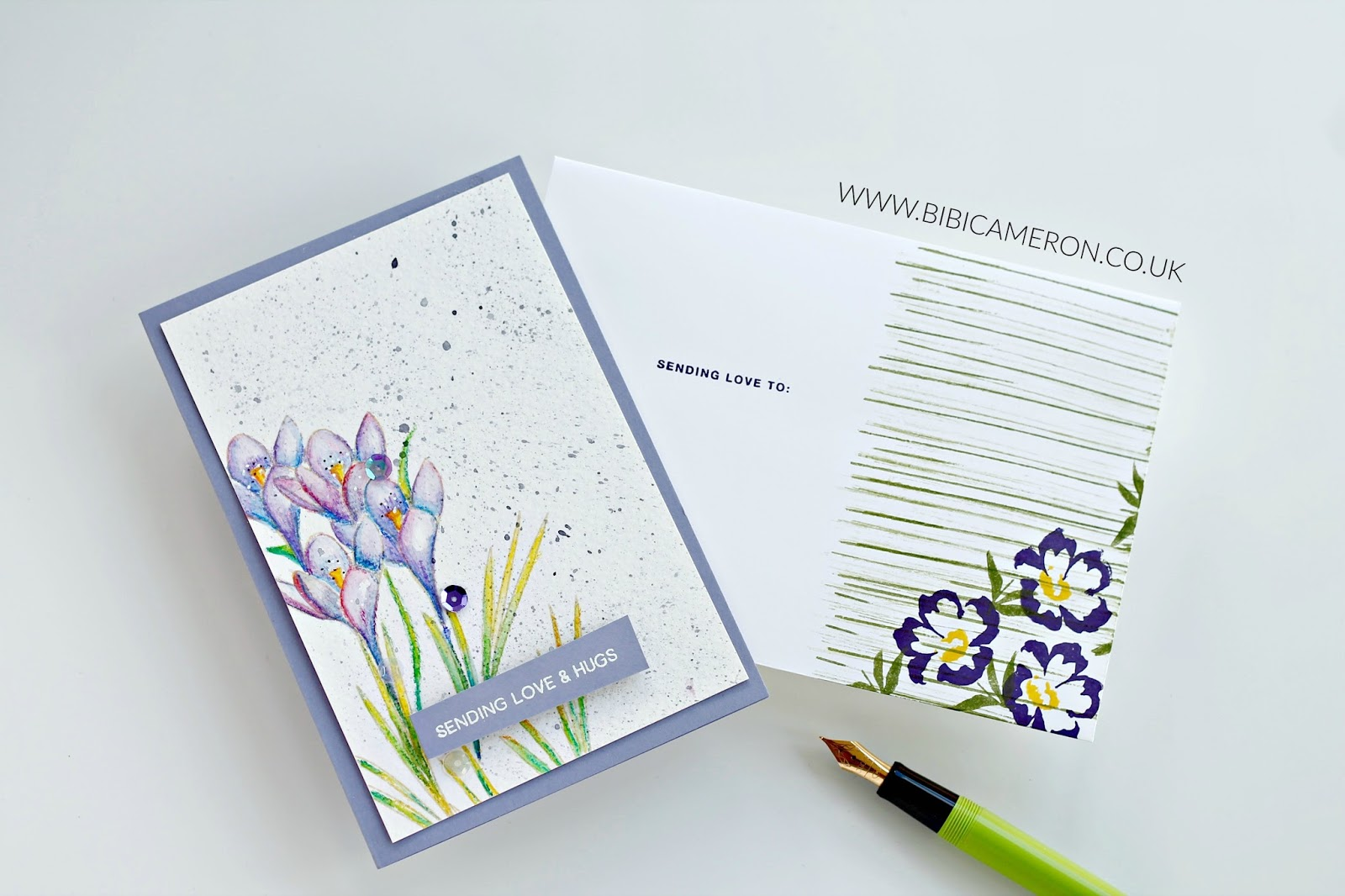 More Spring Flowers + Watercolor Pencils | Video Post