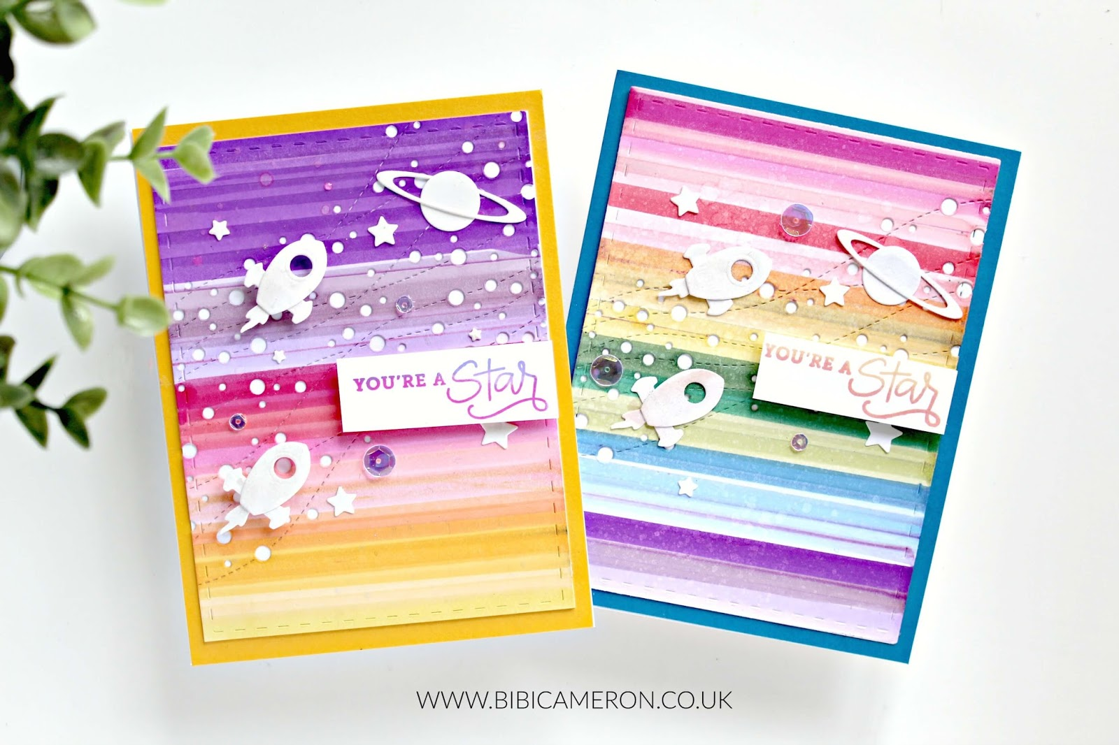 Easy backgrounds for cards   Encouraging Words Simon Says Stamp