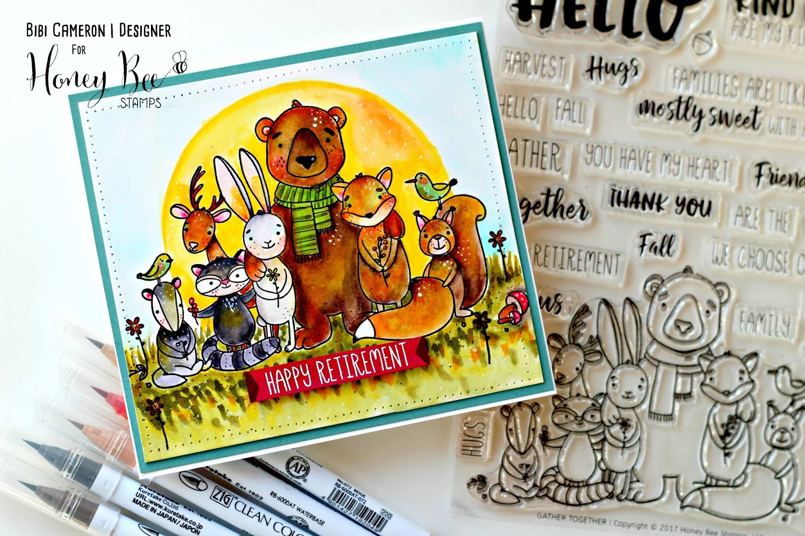 Honey Bee Stamps Fall Release  | Gather Together Stamp Set  Video Post
