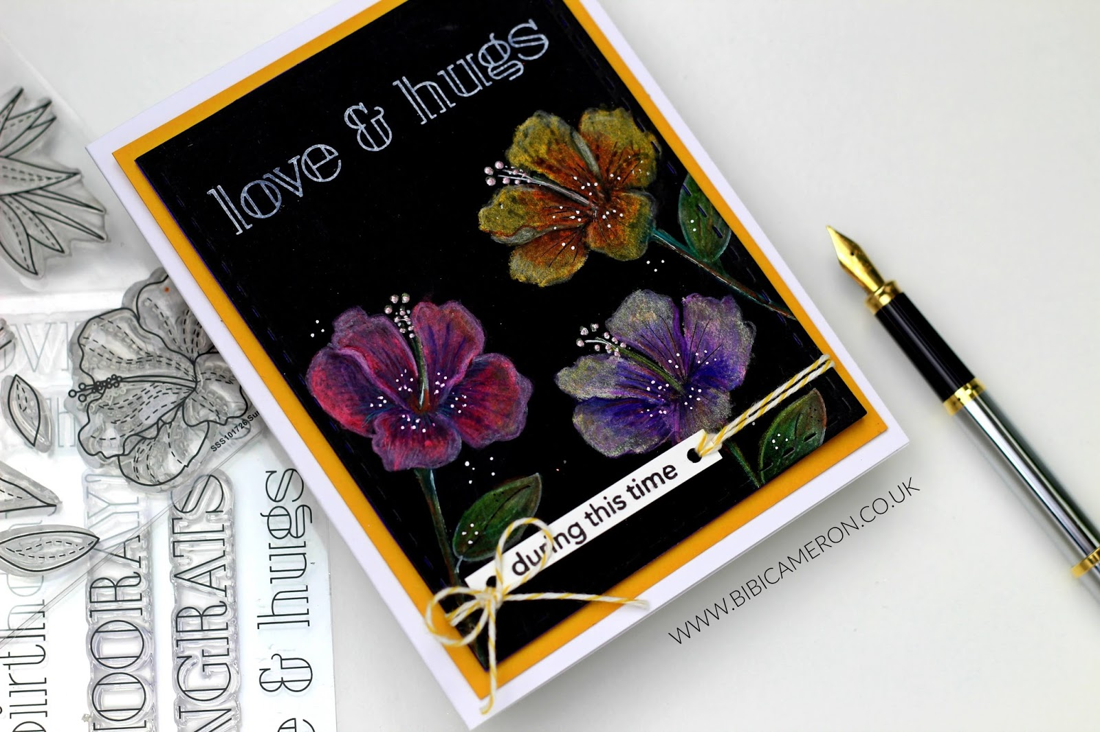 Summer Flowers  Stamp Set  by Simon Says Stamp