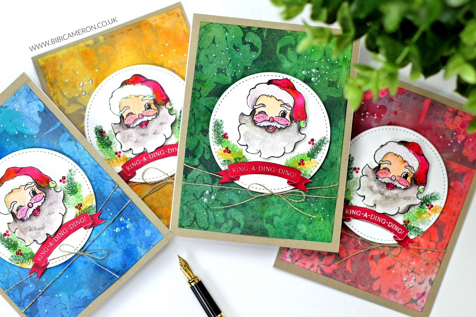 Happy World Card Making Day  with  Mixed Media Christmas Cards