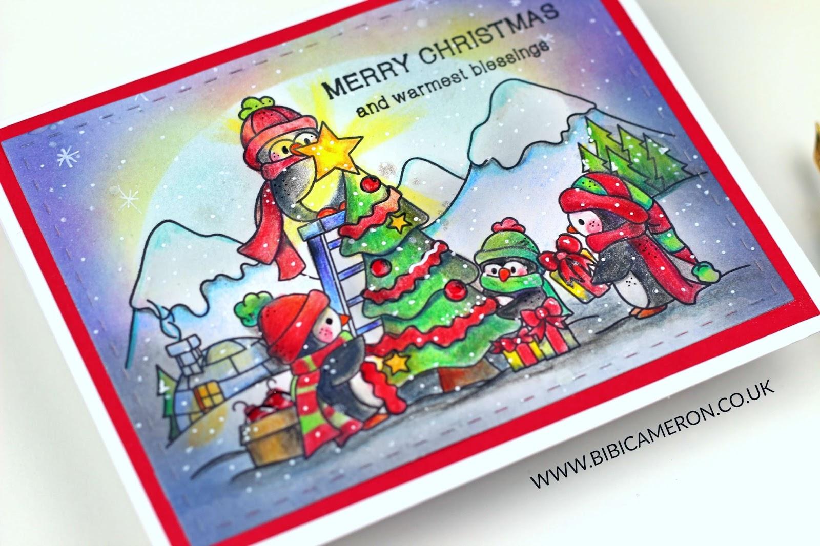 An Arctic Christmas Stamp Set by Simon Says Stamps