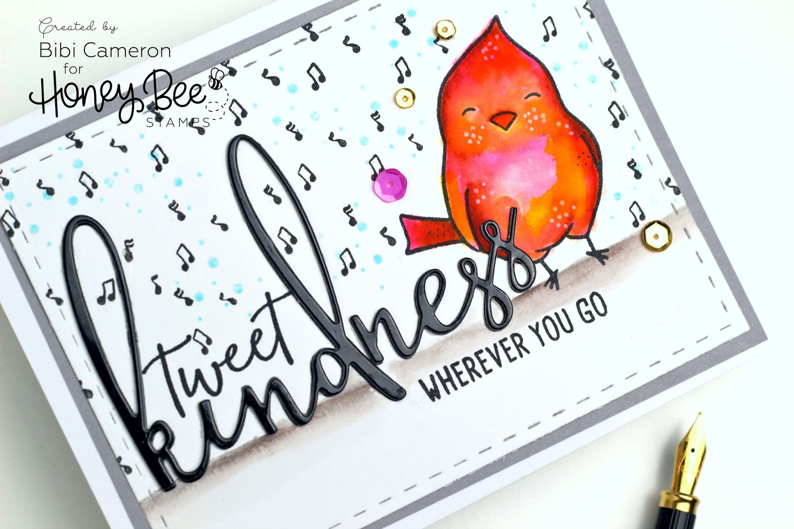 World Kindness Day celebration with a Promo by Honey Bee Stamp