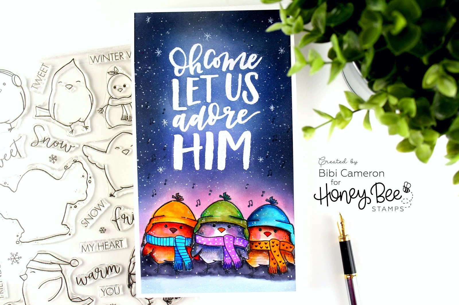 Honey Bee Stamps Season's Tweetings Blog Hop | Holiday Release 2017