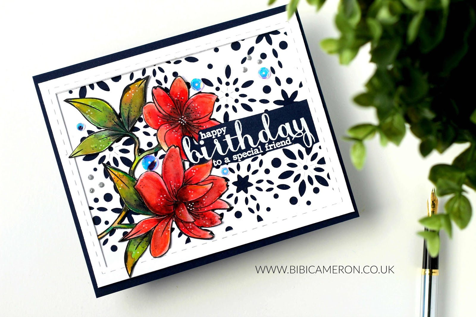 Birthday Card with Christmas Supplies? | SSS Snowburst Collage Die + VIDEO