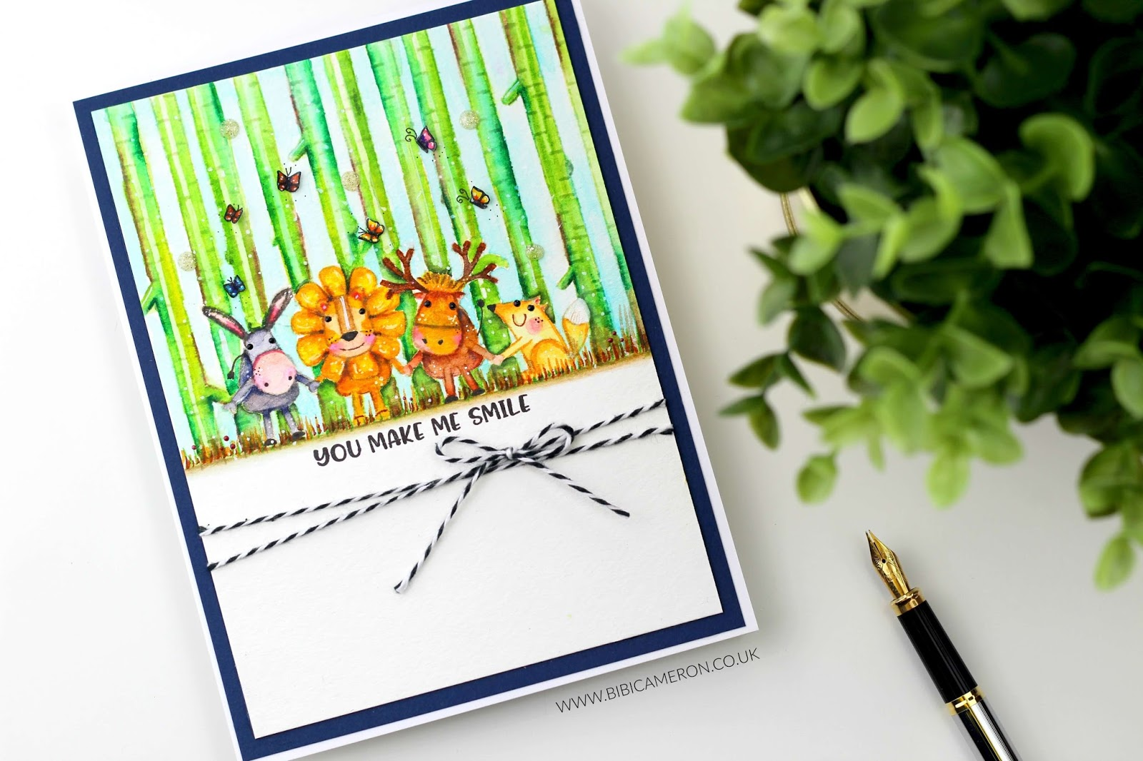 No Line Watercolor Critters |  Best Friends Stamp Set by Simon Says Stamp