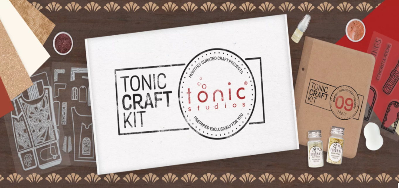News!!! The new Tonic Craft kit #9  have been released today!