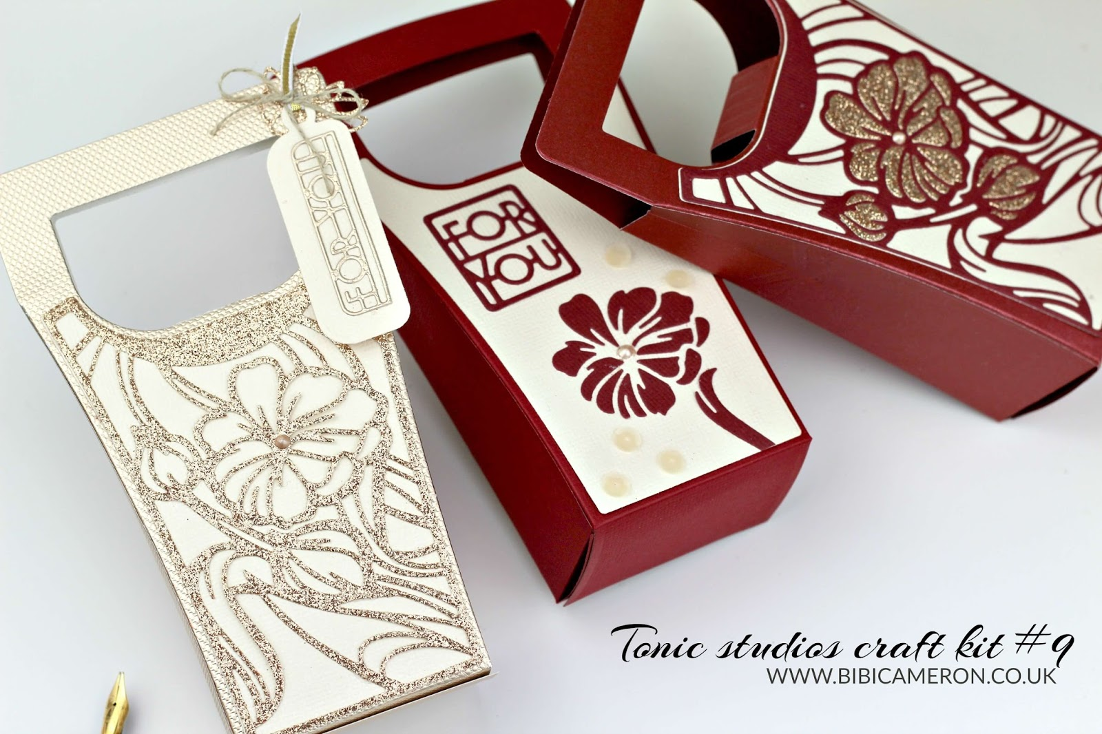Tonic Studios Craft kit # 9 – DIY  fabric shim for paper piecing