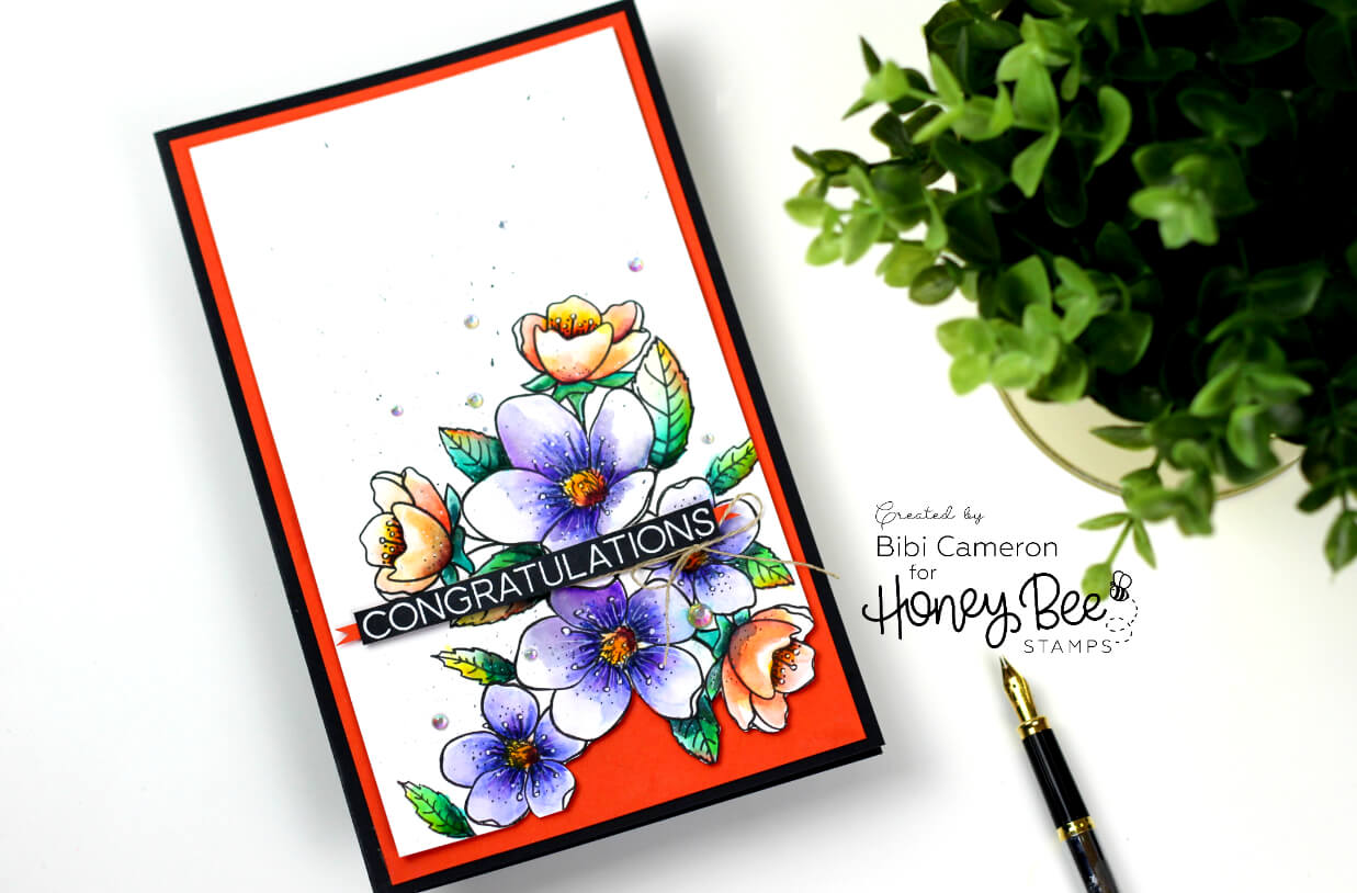 Spring Blooms  by Honey Bee Stamps