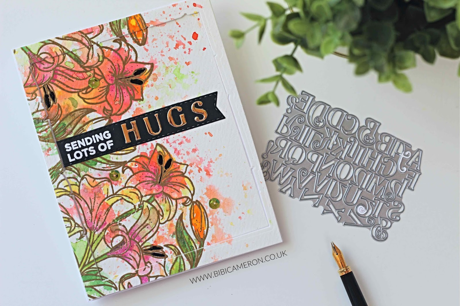 Tonic Studios Craft Kit 10 | Video ideas with  Banners and Alphabet dies