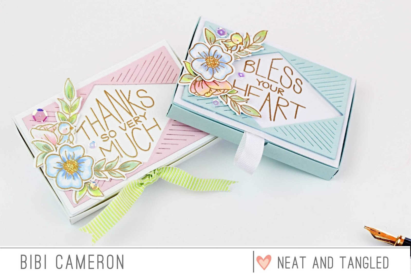 GIft Card Box with pop up gift card holder | New Neat and Tangled Release