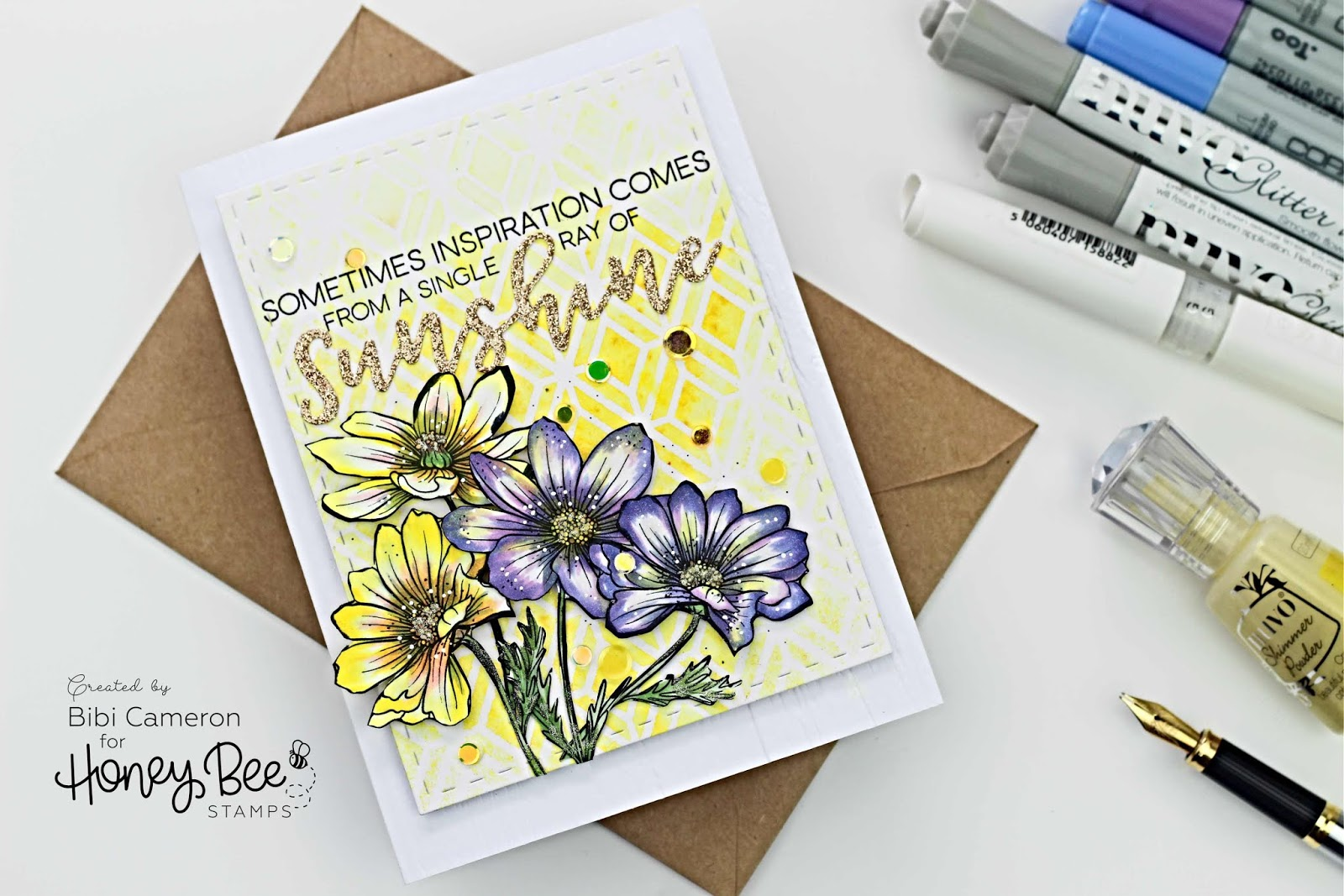 Honey Bee Stamps BEE BOLD New Release Blog Hop | Giveaway