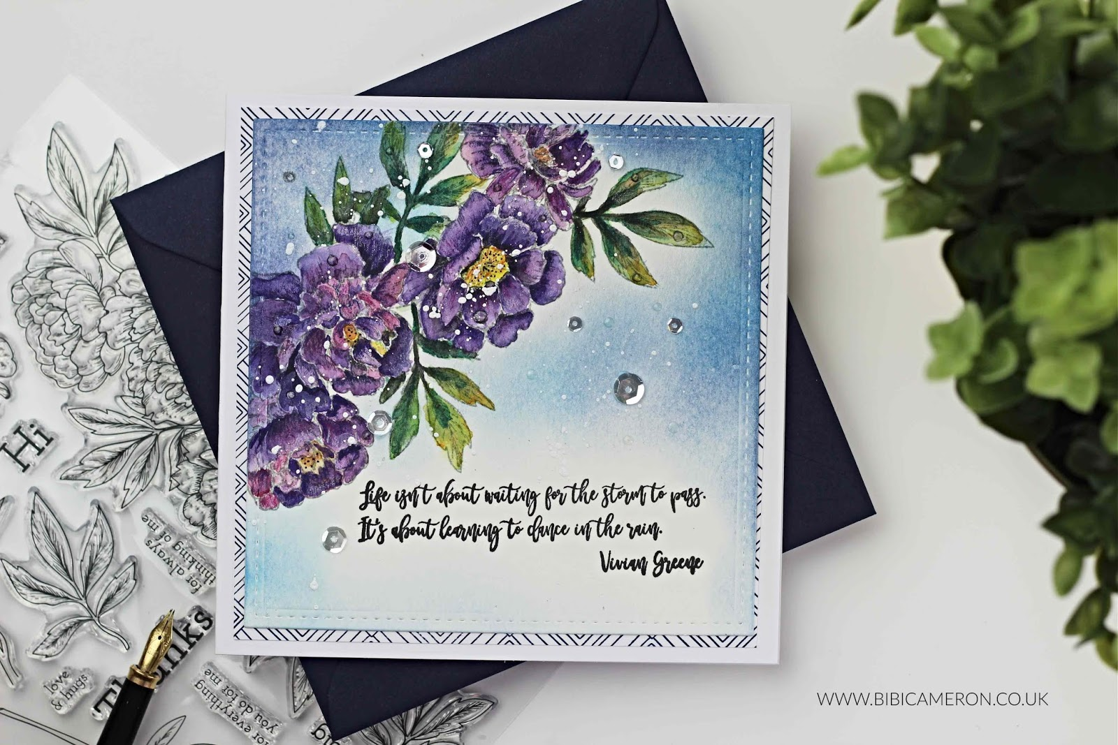 STAMPtember®  2018 Blog Party| Beautiful Flowers II by Simon Says Stamp