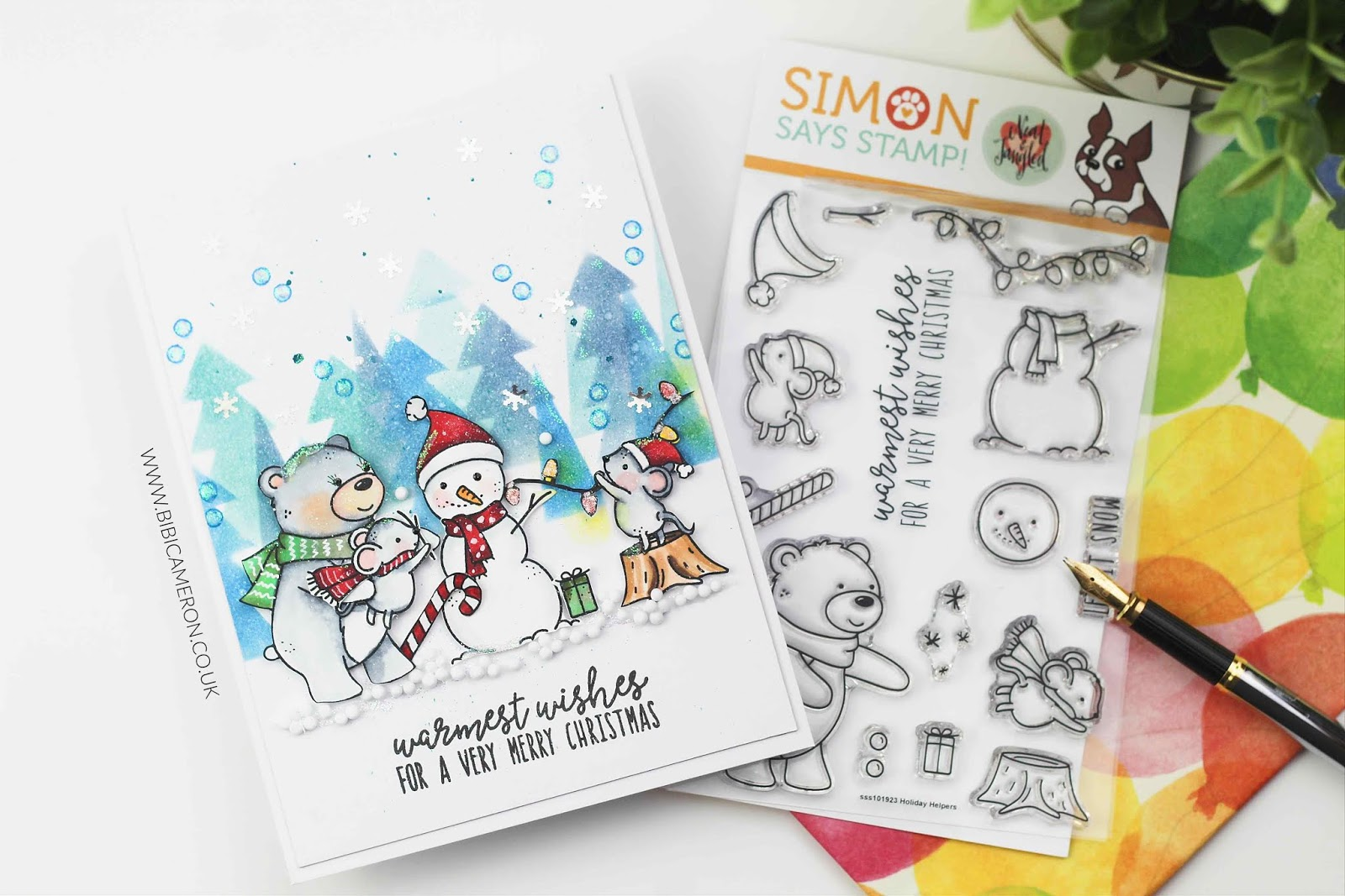 STAMPtember®  Neat and Tangled exclusive | Holiday  Helpers Stamp Set
