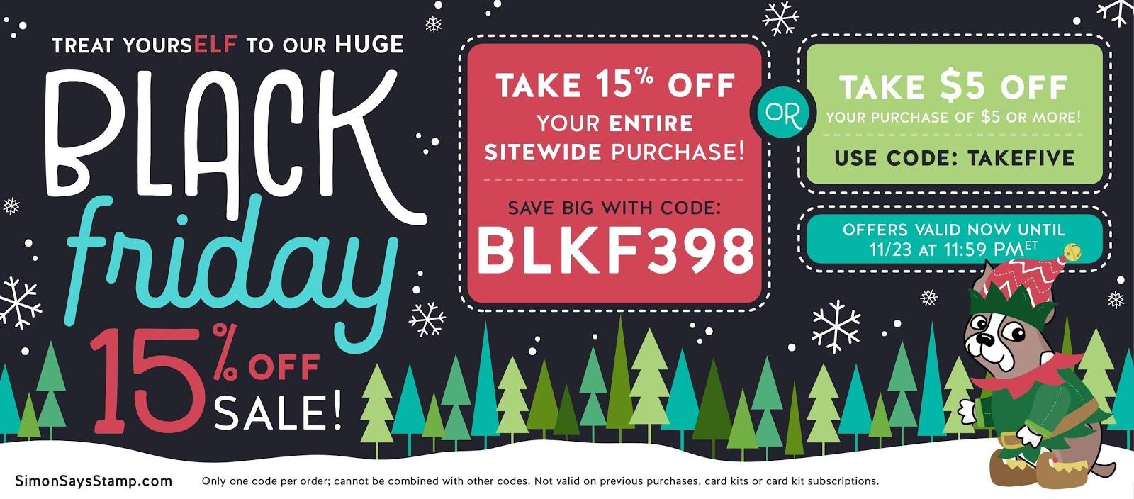 Black Friday Crafty Sales! Look!!