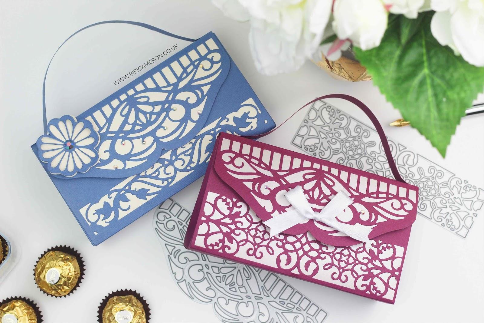 Tonic craft kit #18 ideas | Paper Purse – Basket – Box – Cards