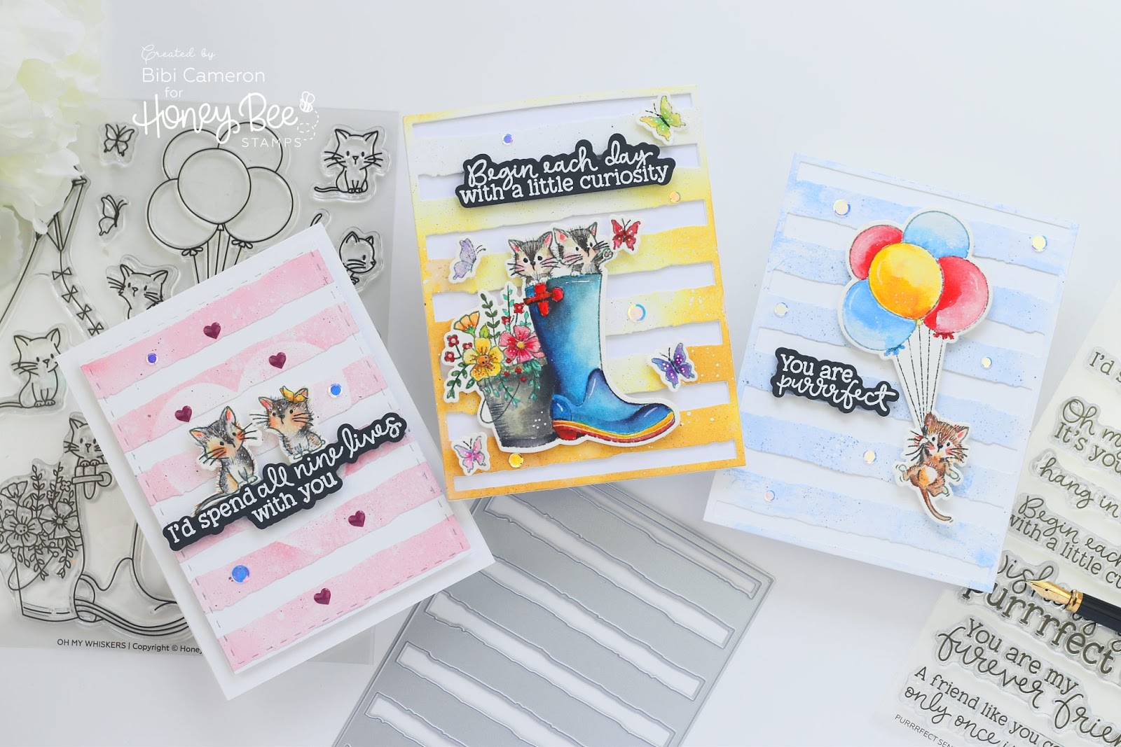 Happy Bee Day Blog Hop Day 2| Honey Bee Stamps 4th anniversary + Giveaway!
