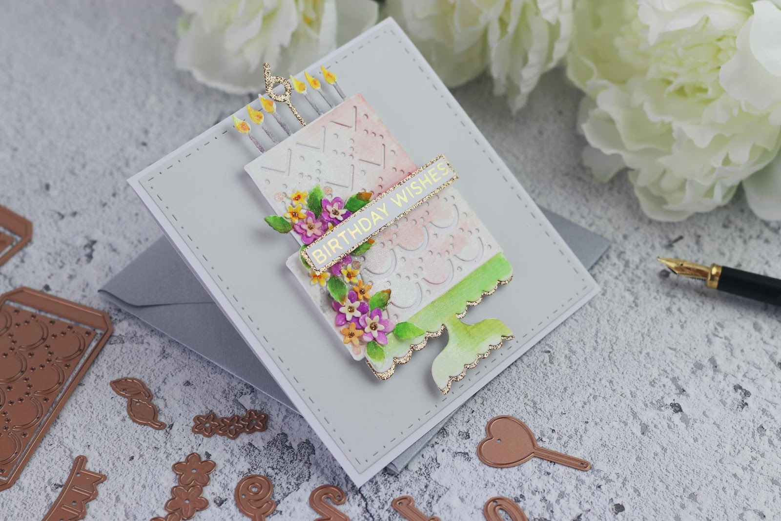 Layer Cake Sparkles  | Spellbinders Large Die of the month