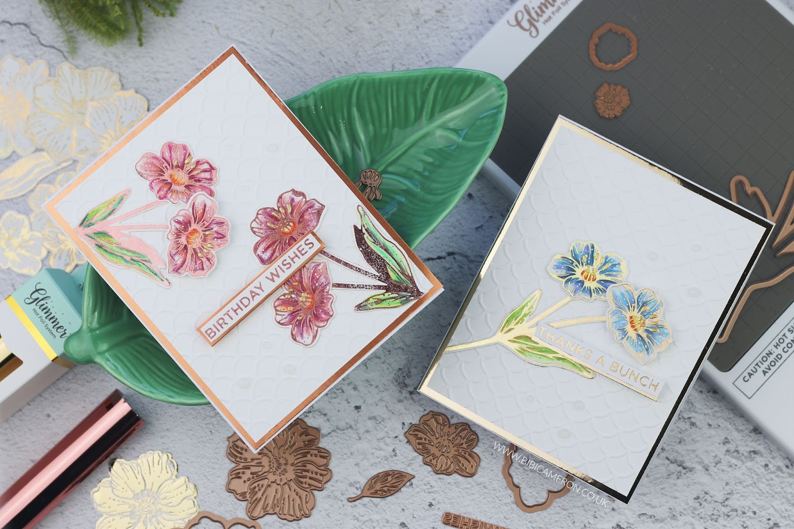 Spellbinders Glimmer Hot Foil kit of the Month April 2019 | Post #2