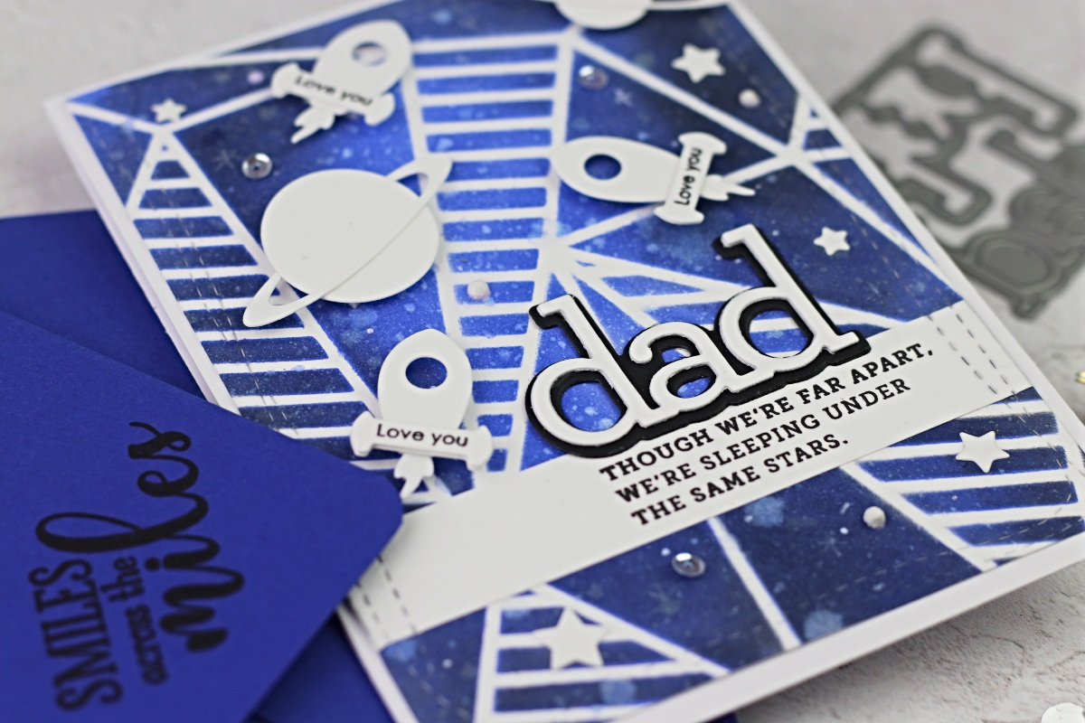 How Papercraft Helped me to Deal with Depression  |  Dad Card using  Simon Says Stamp Supplies