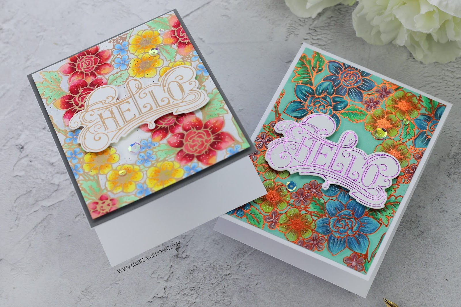 Spellbinders Decorative Glimmer Blog Hop + Giveaway
