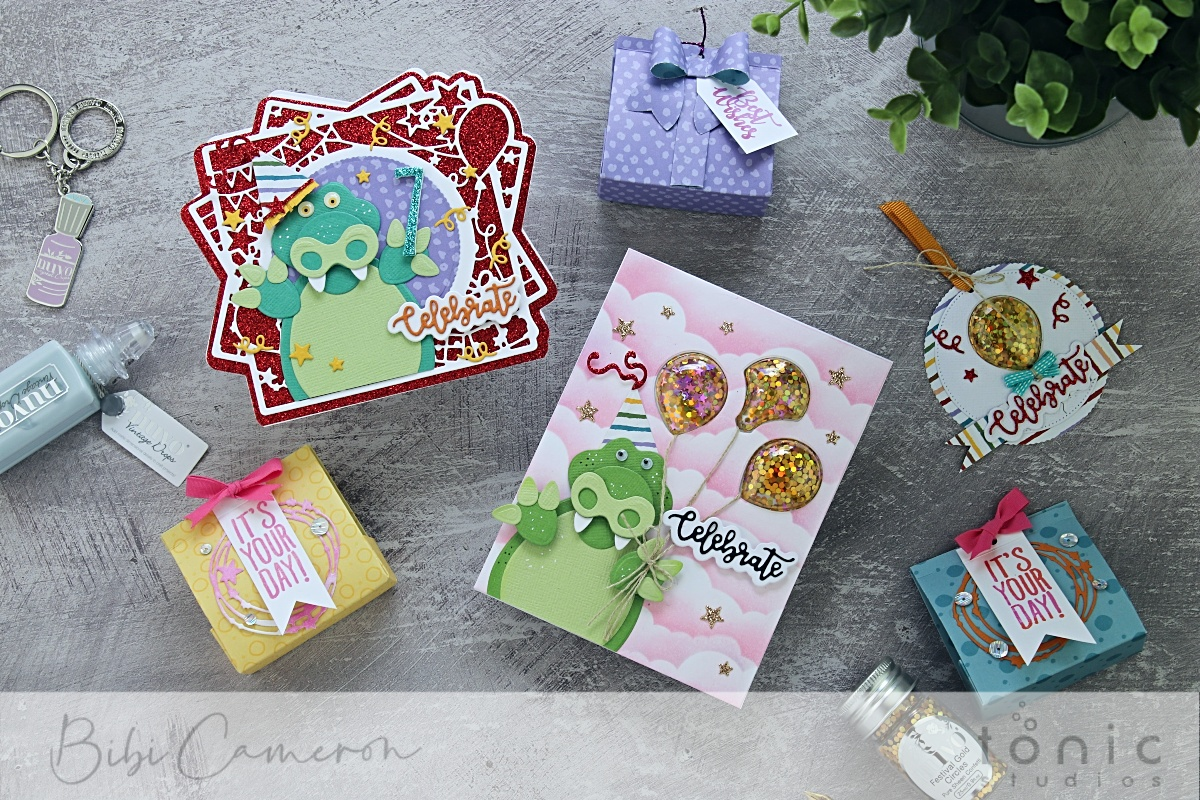 4 papercraft ideas with the Tonic Studios Craft Kit 24  + 10% Off Coupon