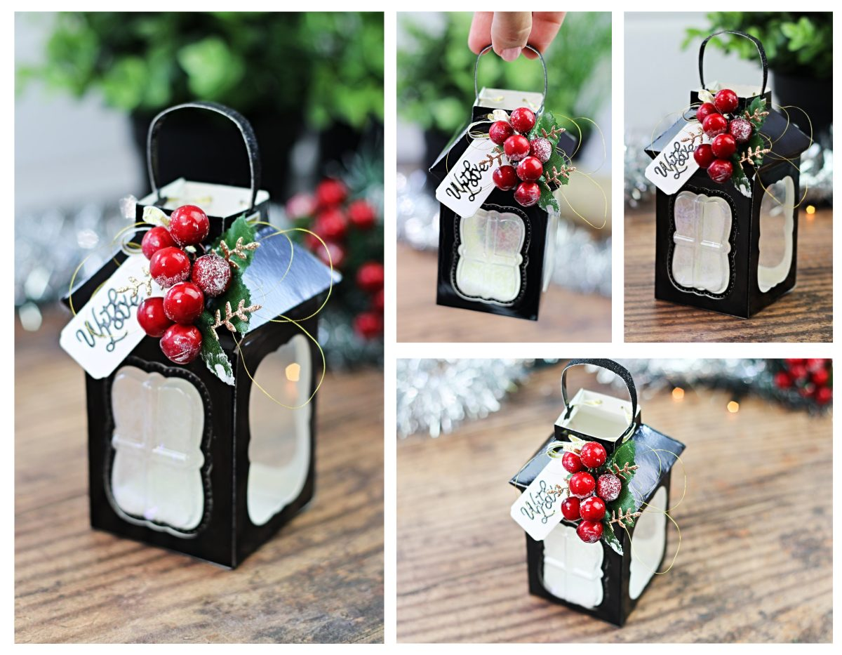 Tonic Craft kit 25 | Christmas Paper 3D Lantern Box Video Post