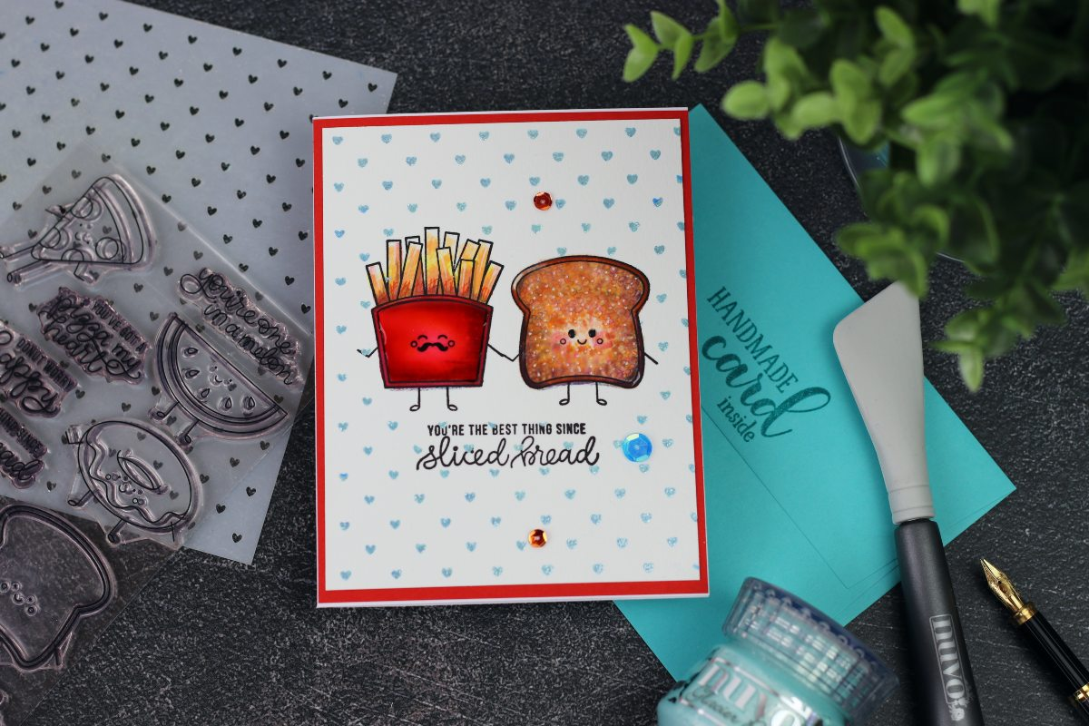 You are the Best Thing Since Sliced Bread  | Funny Food Stamp Set  by Simon Says Stamp