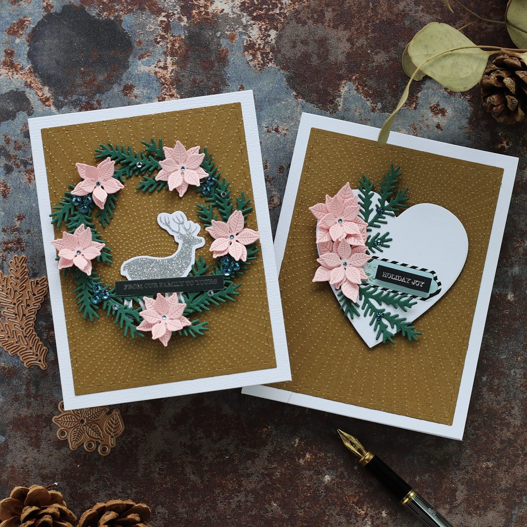 8 cards Ideas + Spellbinders Kit of the Month – October 2019 .