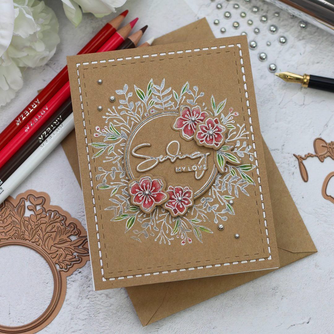 Foiled Basics by Yana Smakula for Spellbinders