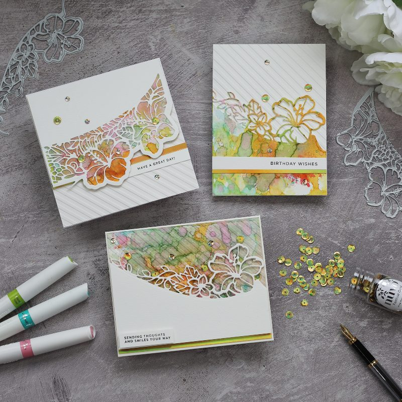 Tonic Craft kit 31 Tropical Paradise | Awesome Watercolour Backgrounds