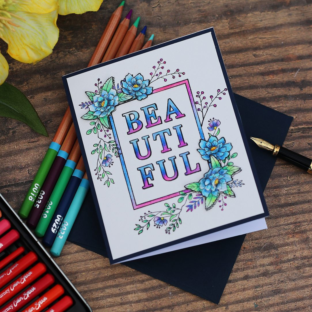 Bold Beautiful Spellbinders Stamp of the Month – April 2020