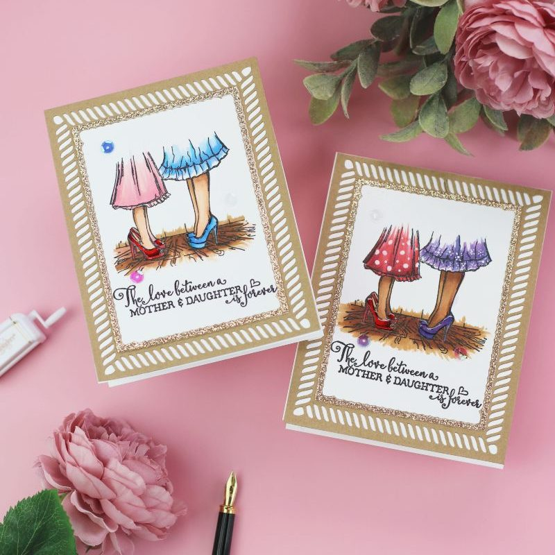 Lovely Legs Mothers and Daughters Cards