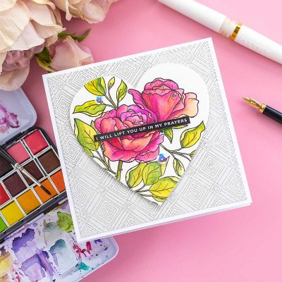 Be My Valentine by Simon Says Stamp