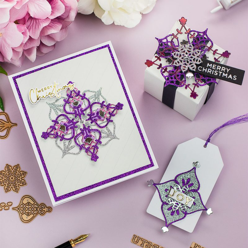 3 Easy Xmas Ideas Spellbinders Small Die August 2020