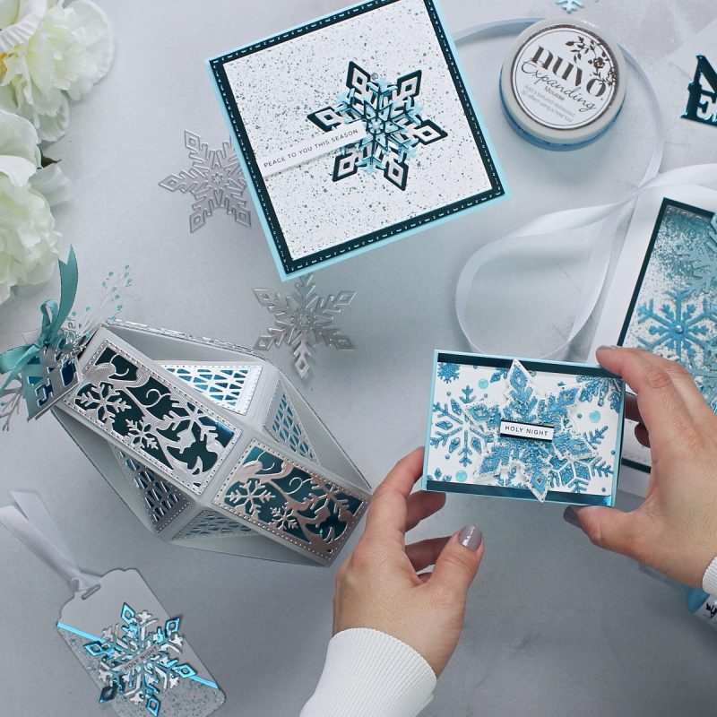 6 Christmas Projects and more + White Wonderland  by Tonic Studios