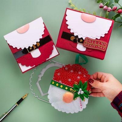 Die Cut Felt Gnome + Santa Card & Box Tonic Designer Choice 10